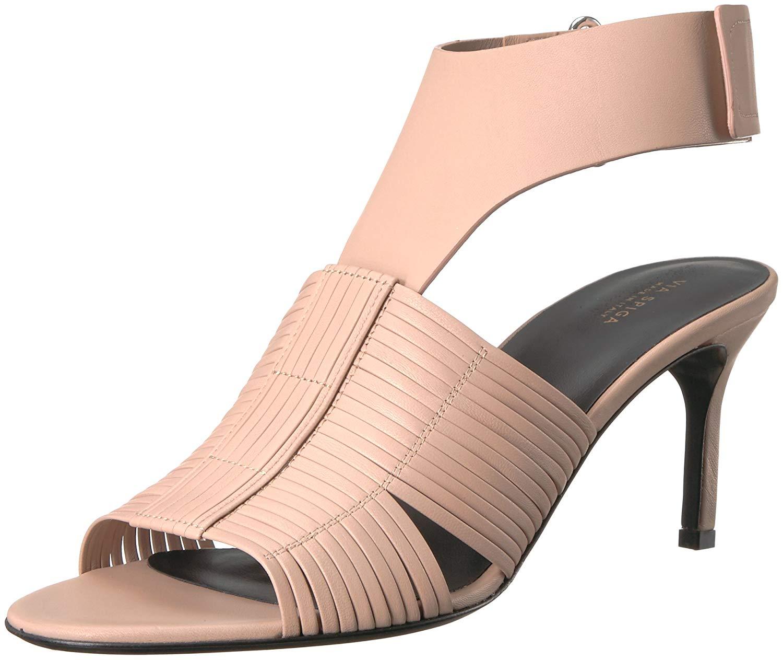 1c010d64b63 Via Spiga Via Spiga Women s JUSTINE2 Woven Heel Heeled Sandal ...