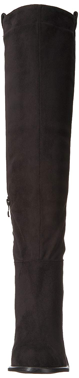 f81a50ff322 Very Volatile Womens Nate Fabric Almond Toe Over Knee Fashion Boots
