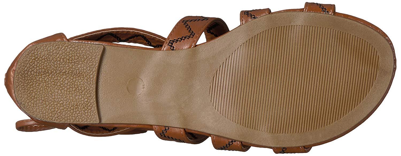 d1b4667cd9b Qupid Womens Jamilla-13 Open Toe Casual Strappy Sandals