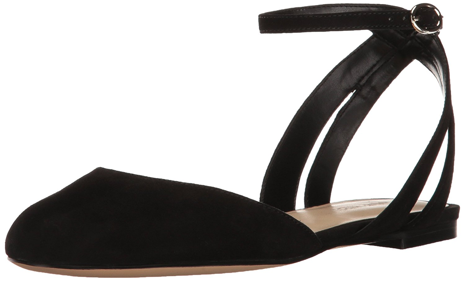 250f754e11429c Nine West Womens Begany Leather Closed Toe Casual Ankle Strap Sandals