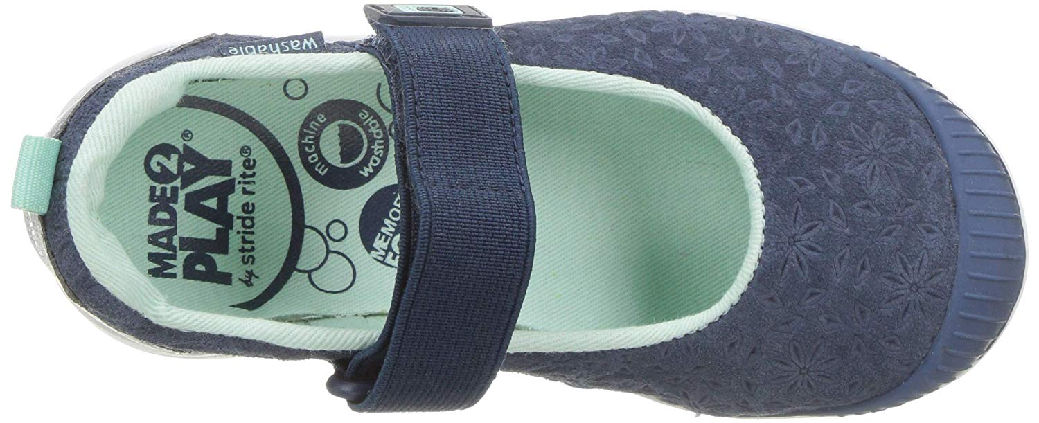 Kids Stride Rite Girls LIA Canvas   Mary Jane Flats
