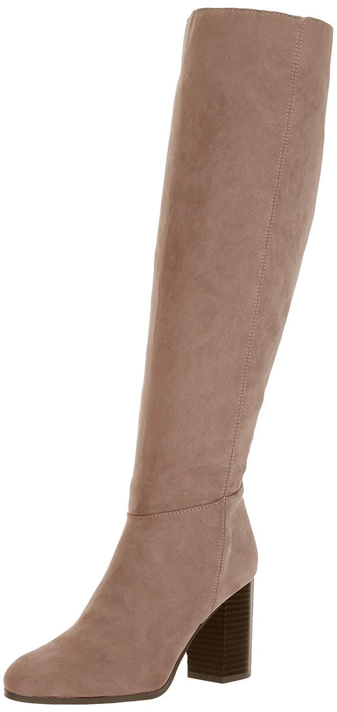 acd440f1d Circus By Sam Edelman Womens Silbey Fabric Almond Toe Knee High Fashion  Boots