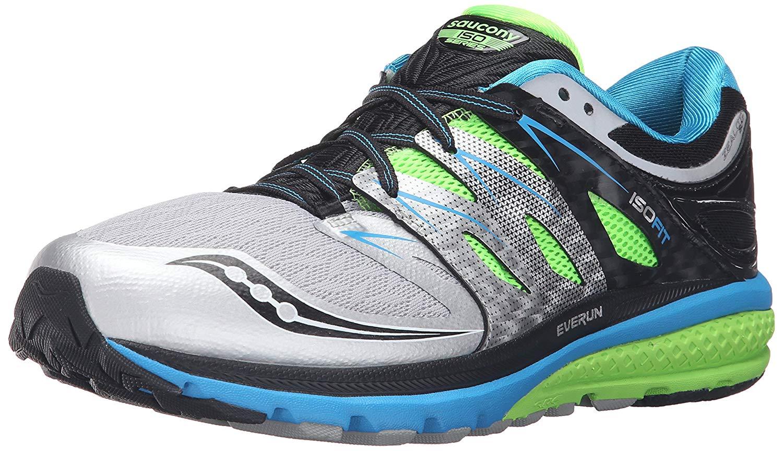 7b01547d Saucony Zealot ISO 2 White/Black/Silver Men's Running Shoes S20332-1