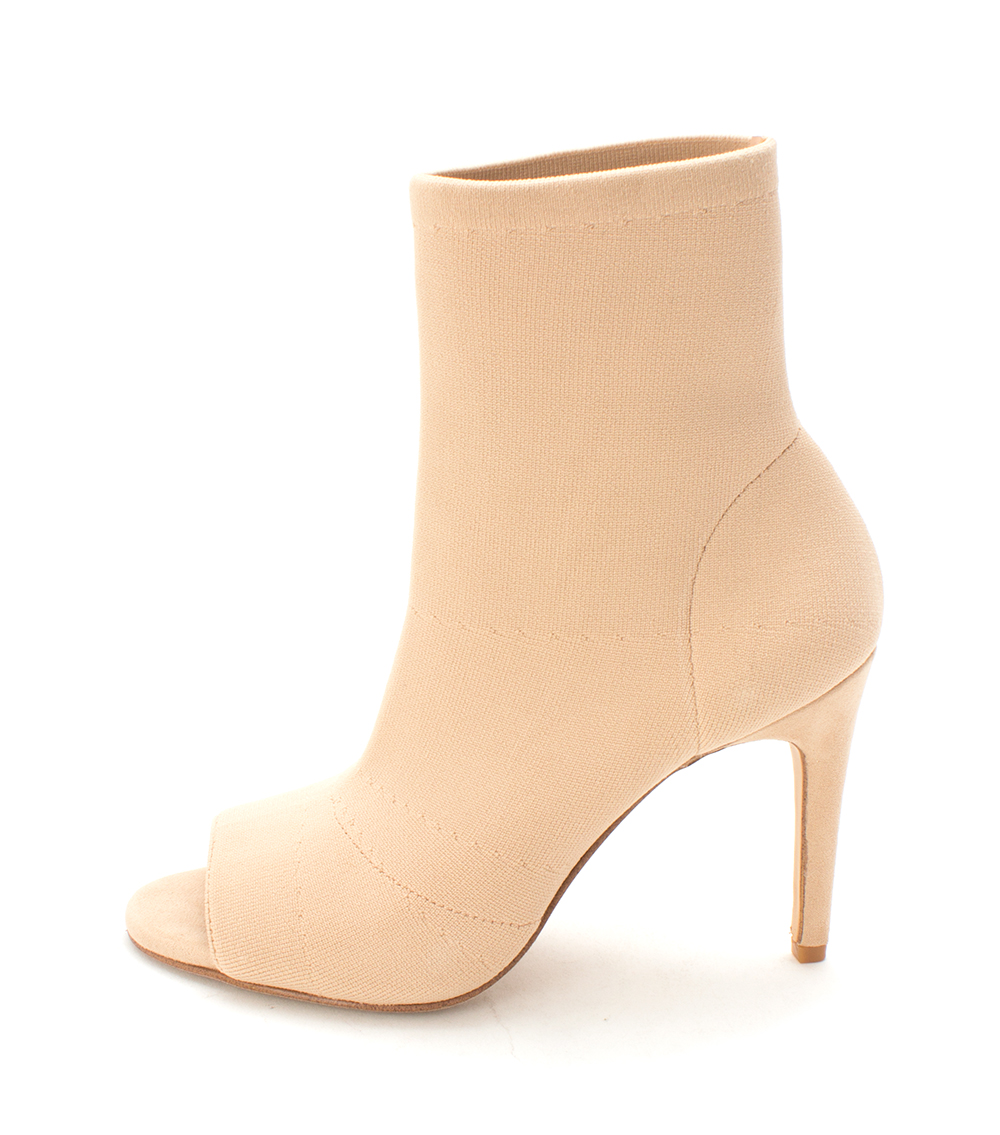 INC International Concepts Womens Rielee Fabric Open Toe Ankle Fashion Boots