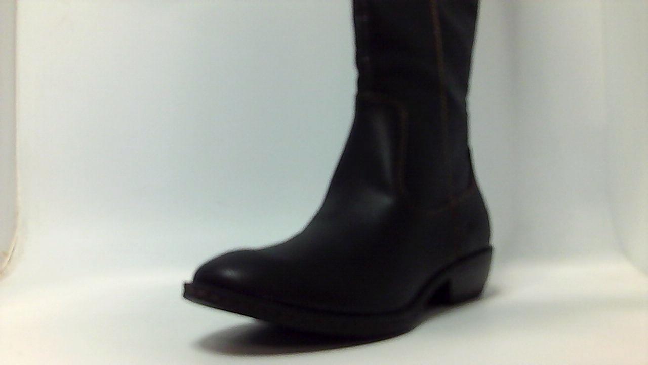 Born Donna SHARLENE Stivali, Almond Toe Mid Calf Fashion Stivali, SHARLENE Nero, Size   af4b89