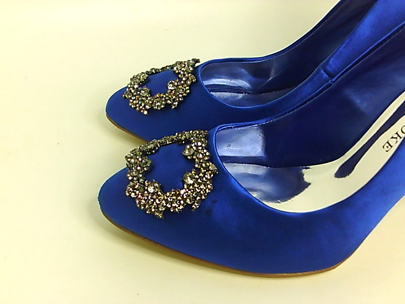 c8ce4b911486 Audrey Brooke bella Womens Heels   Pumps Cobalt 7 US   5 UK dQ ...