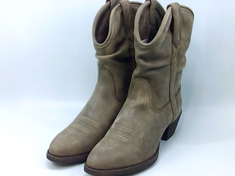 7c86c940eea37 Details about ARIAT Women's Reina Western Boot, Brown Bomber, Size 6.0 Dd9u