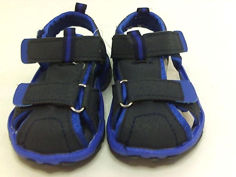 Details About Rugged Bear Boys Sports Sandal With Lights Ankle Strap Navy Blue Size 6 0