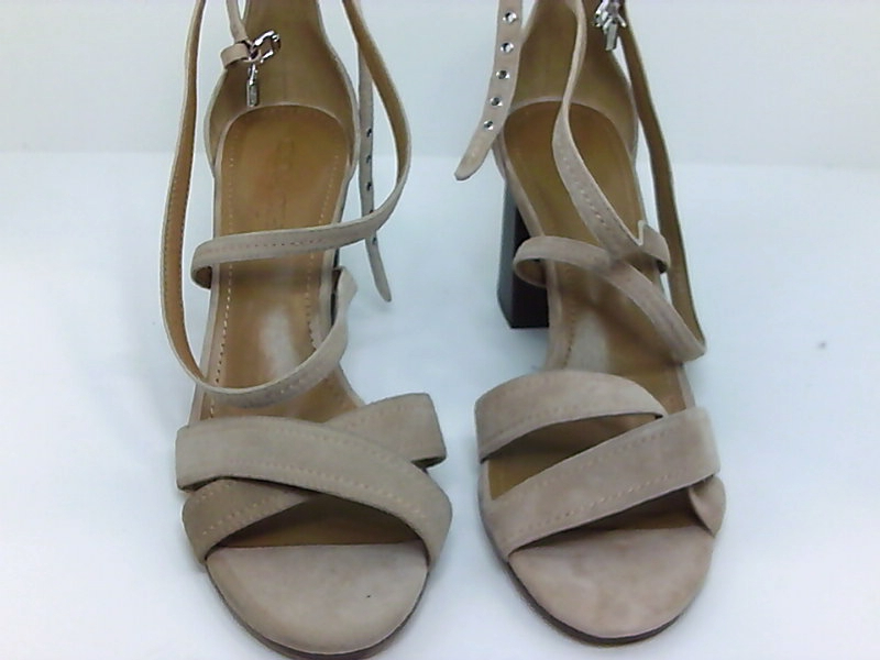 e8a29b17691 Coach Womens Phoebe Suede Open Toe Casual Strappy Sandals