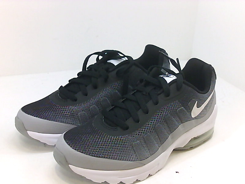 Details about Nike Mens Air Max Invigor SE Low Top Lace Up, BlackWhiteWolf Grey, Size 7.0 6f