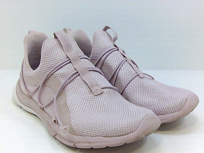 Details about Reebok Womens Print Her 3.0 Low Top Pull On Running, Ashen LilacWhite, Size 8.5