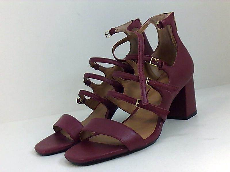 Calvin Klein Womens Caz Round Toe Casual Strappy Sandals