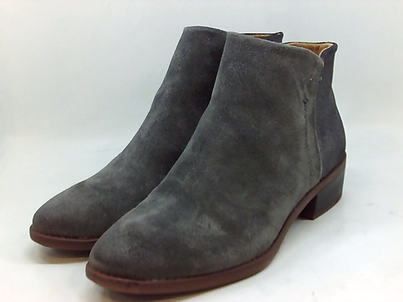 Details about Comfortiva Womens Carrie Closed Toe Ankle Fashion Boots, Steel Grey, Size 9.0 ie