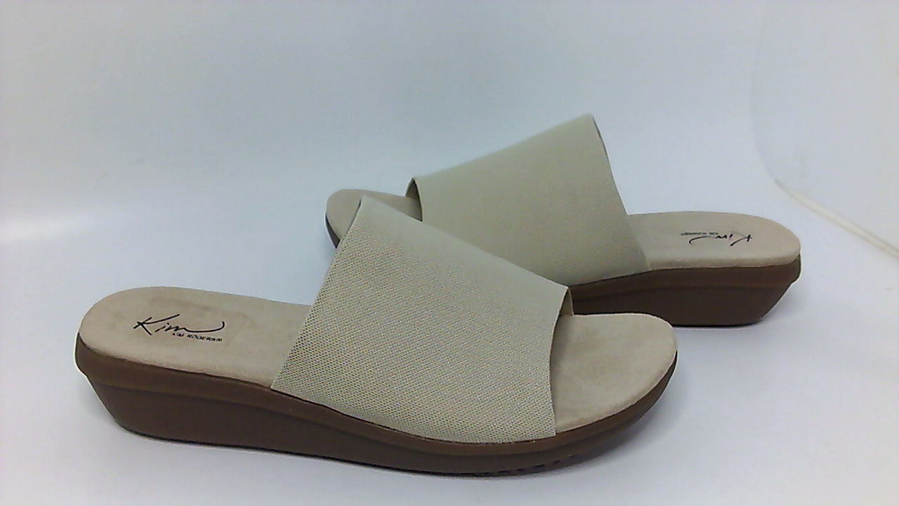 ccb9771cd85e Kim Rogers Womens Falicia Open Toe Casual Slide Sandals