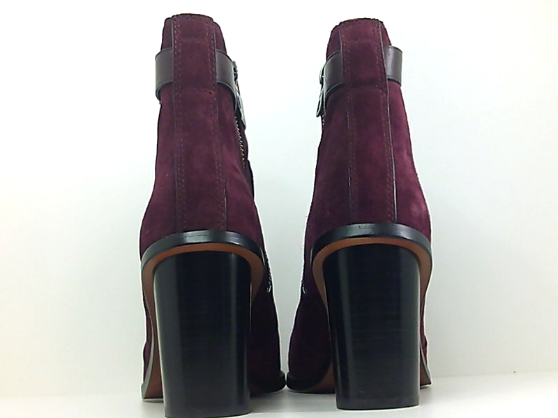 052626e504a Coach Womens Moto Open Toe Ankle Fashion Boots