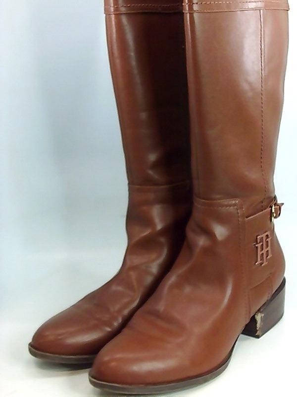 Détails sur Femmes Tommy Hilfiger Bottes Couleur Marron Medium Brown Taille 41.5 EU 10 US