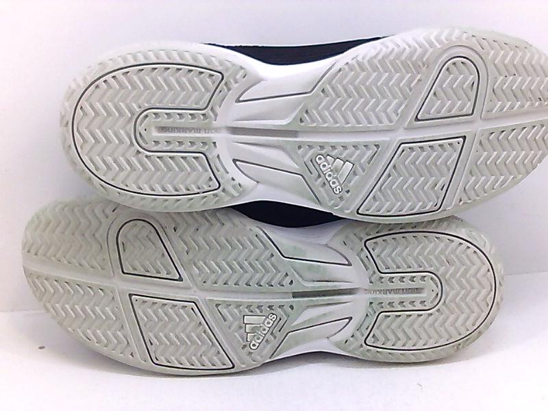 adidas Girls adizero Club K Pink Junior Tennis Shoes White Sports Breathable