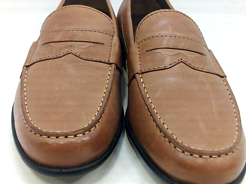 Rockport Mens M76444 Leather Round Toe Penny Loafer ...