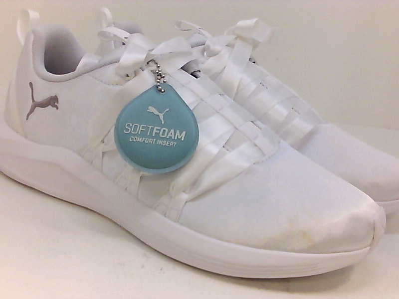 Details about Puma Womens Prowl Alt Satin Low Top Lace Up Running, Puma White, Size 9.5 NAXh