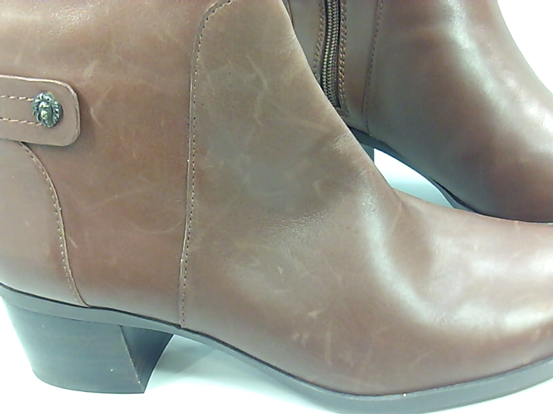 08e161ad8391e Anne Klein Womens Jela Leather Closed Toe Knee High Riding