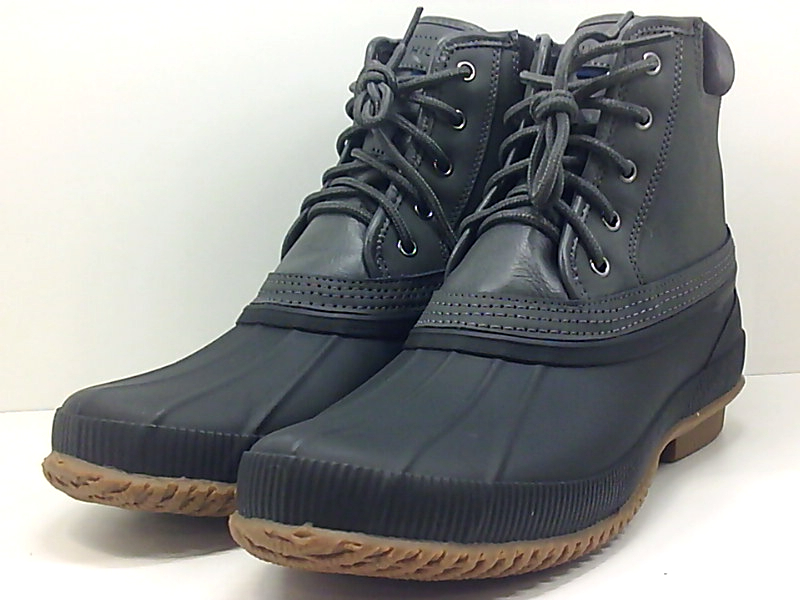 3a828c61e71b2 Tommy Hilfiger Mens Casey Rubber Round Toe Ankle Fashion Boots