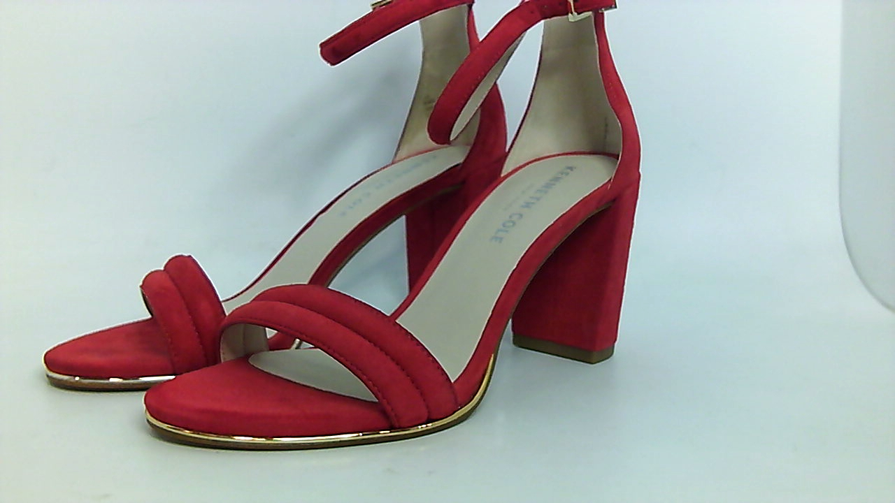 1f0879fda26 Kenneth Cole New York Womens Lex Leather Open Toe Ankle Strap
