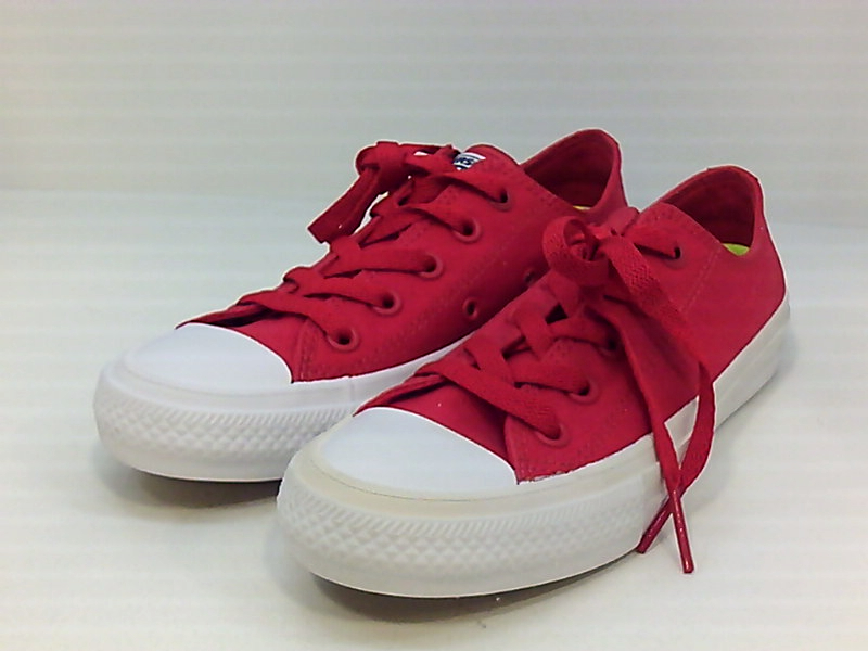 Details about Converse Womens ct II ox Canvas Low Top Lace Up, SalsaSalsa RedWhite, Size 6.0