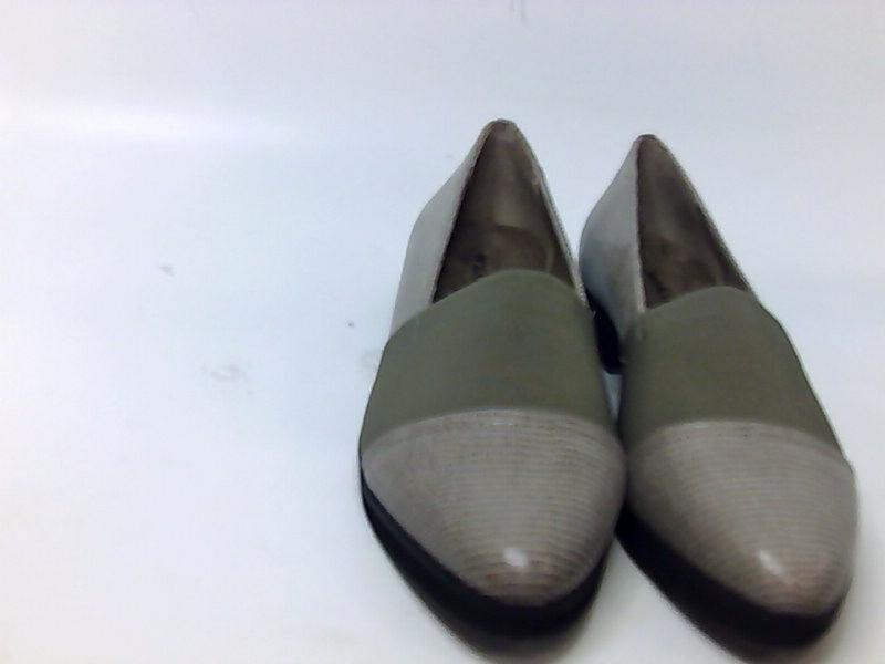 Walking Cradles Bandeau para Mujer gris Mocasines & slipons Mid gris Mujer Topo patente Lagarto 7 US  4e16c0