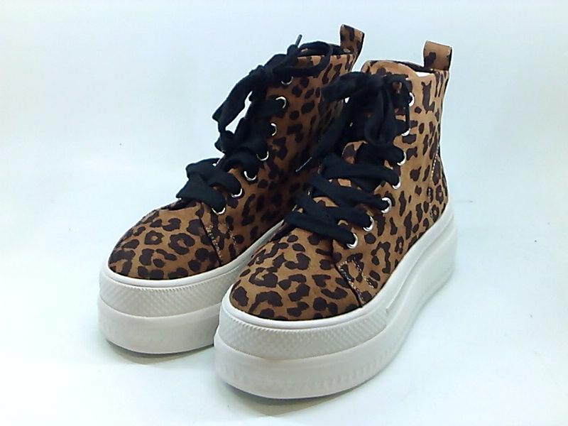Madden Girl Women's Shoes Fashion Sneakers, Leopard Fab, Siz