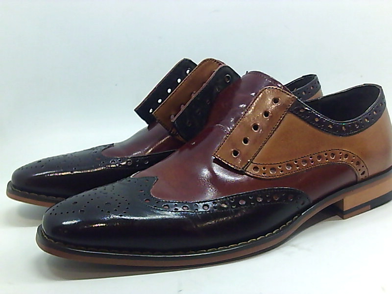 Details about Stacy Adams Hombres Tinsley Leather Oxfords Brown Size 8 US41.5 EU show original title