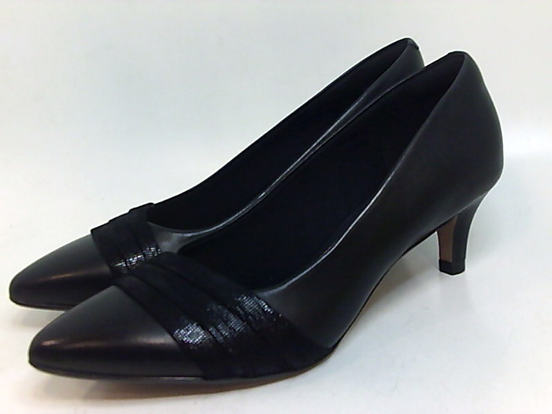 Clarks Womens Linvale Madie Leather Pointed Toe Classic