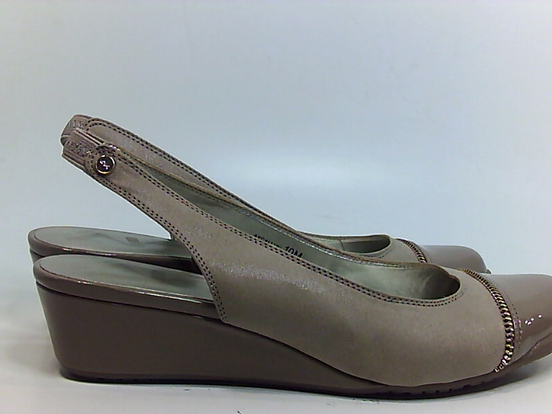 42d484ad22c Anne Klein Callum Womens Heels   Pumps Taupe Taupe Fabric 10 US   8 ...