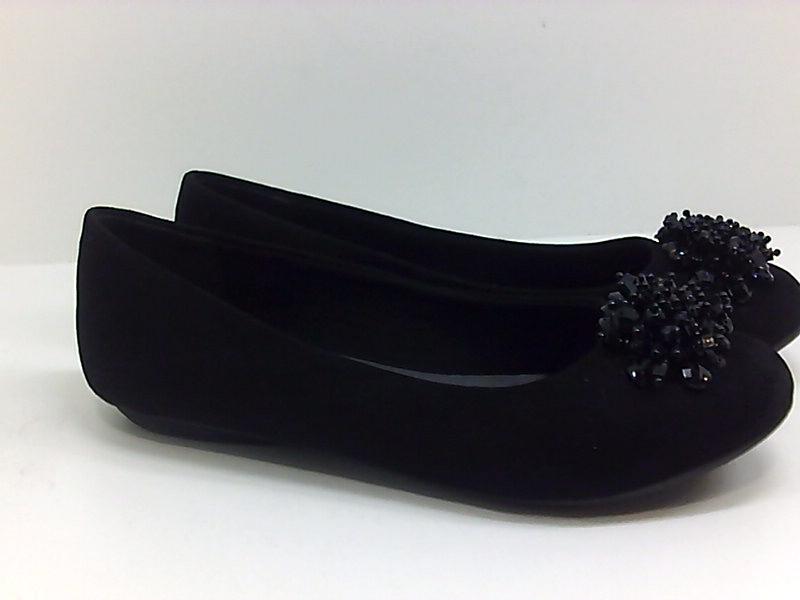 Karen Scott Womens Roice Fabric Round Toe Loafers
