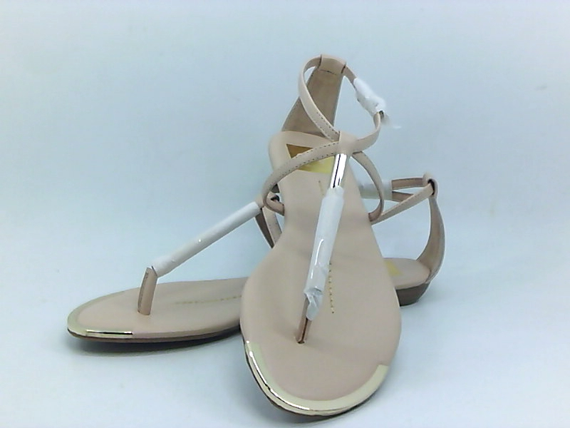 DV by Dolce Vita Archer Flat Sandals Nude Stella Womens