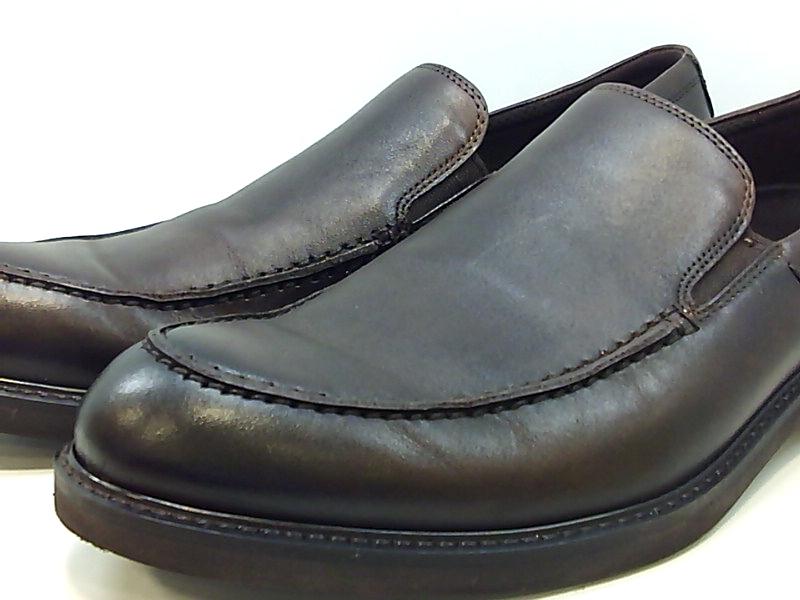 ECCO-HOMME-Vitrus-III-Moc-CLOSED-Toe-Slip-On-Chaussures-cacao-marron-taille-10-0-CU7v-U miniature 6