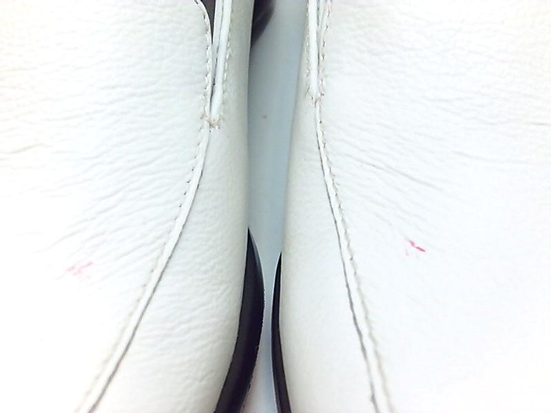 Trotters-Womens-Jenn-Leather-Square-Toe-Loafers-White-Size-9-0-US16-US-7-UK thumbnail 7
