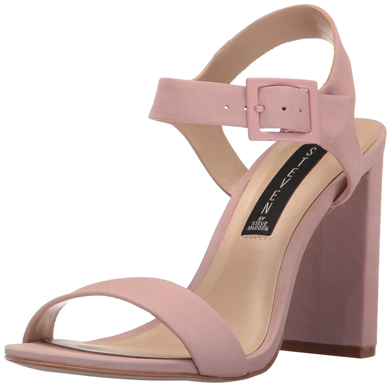 16cadd45f13 Details about STEVEN by Steve Madden Womens Eisla NuBuck Open Toe Casual Ankle  Strap Sandals