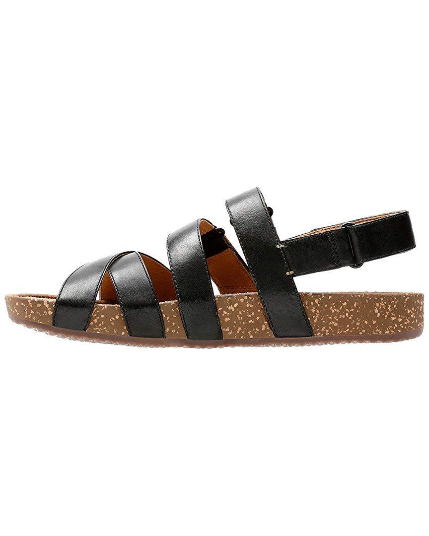 27f21891b55bca Clarks rosilla keene Womens Flat Sandals Black 5.5 US   3.5 UK ...