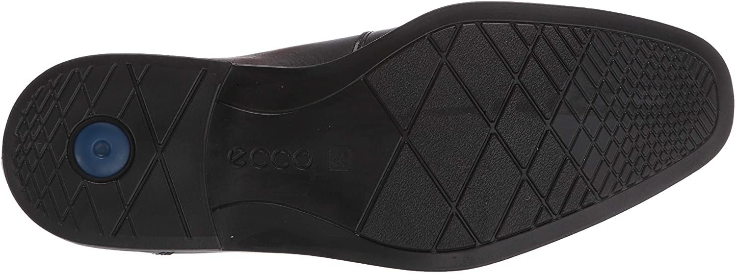 ECCO Men's Shoes 85890401001 Leather Closed Toe Penny ...