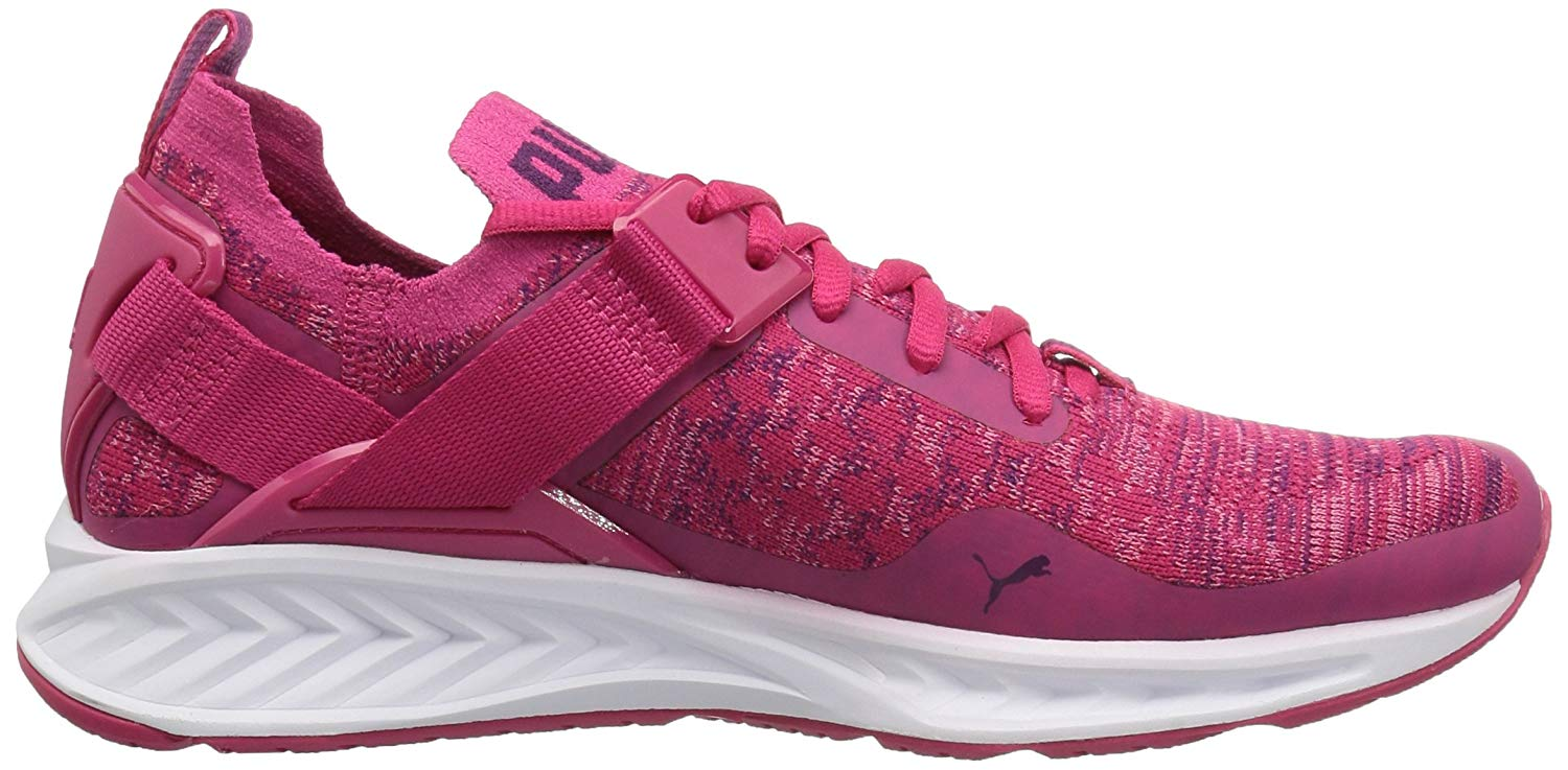 9c8a6864334f89 Kids PUMA Girls ignite Low Top Lace Up Walking Shoes