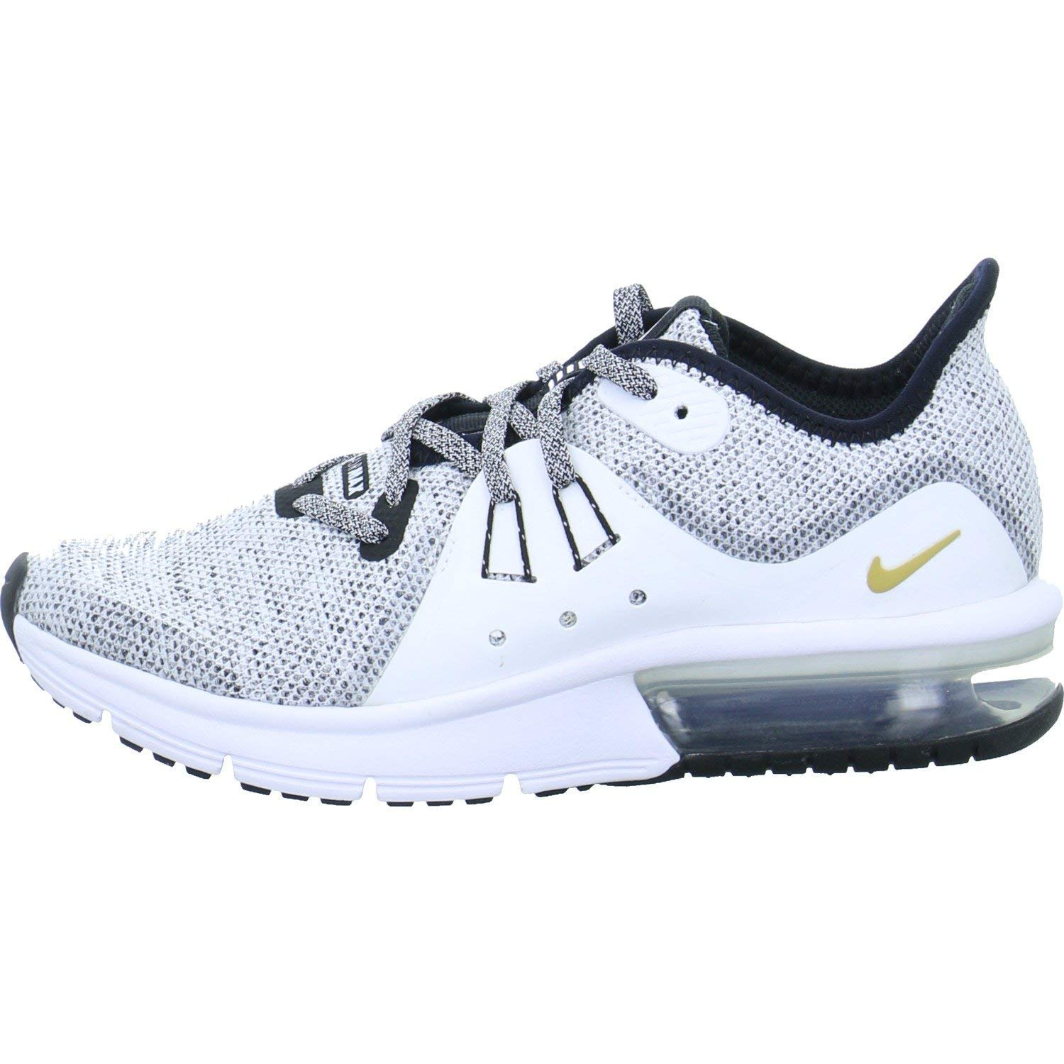 77be02f6c0 Kids Nike Girls Air Max Sequent 3 (ps) Low Top Lace Up, Black, Size 13.5 C  Boys