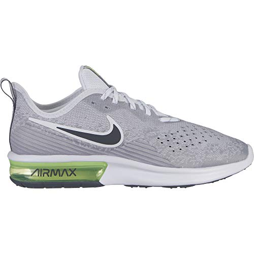 Details about Nike Mens Air Max Sequent 4.5 SE Fabric Low Top Lace Up Running, Grey, Size 11.5