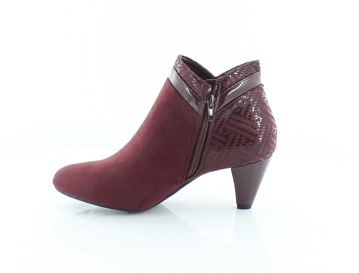 Womens Cahleb Fabric Closed Toe Ankle Fashion Boots