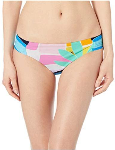 Trina Turk Womens Tie-Side Hipster Pant Bikini Bottom