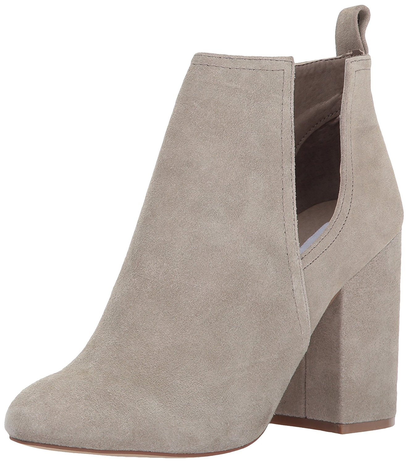 Steve Madden Women's Naomi Ankle Bootie Taupe Suede Size 9.5 HJIb
