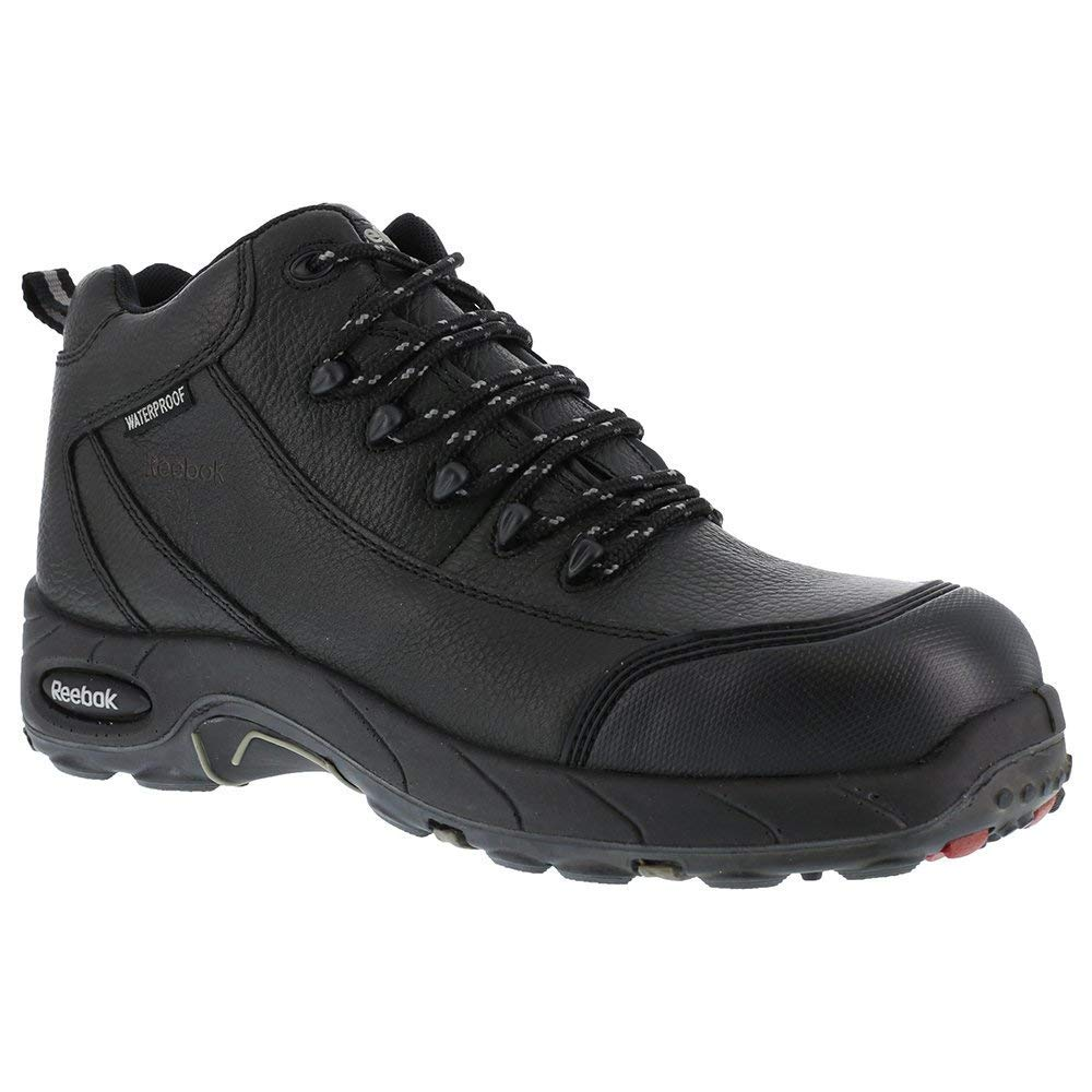 6a2601b2cee Details about Reebok Work Mens Tiahawk Safety Toe Work Boots Leather  Composite toe Lace Up ...