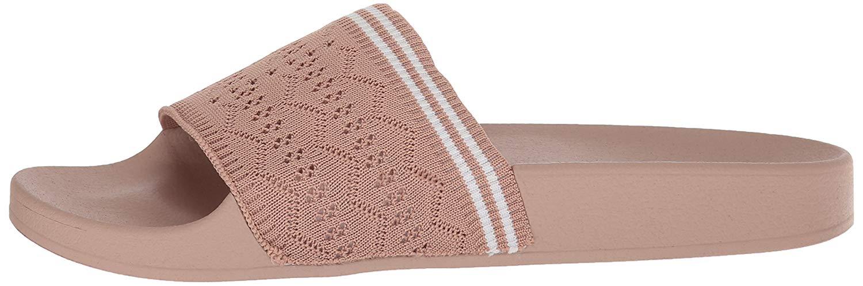3daf6063785 Steve Madden Womens vibe Open Toe Casual Slide Sandals
