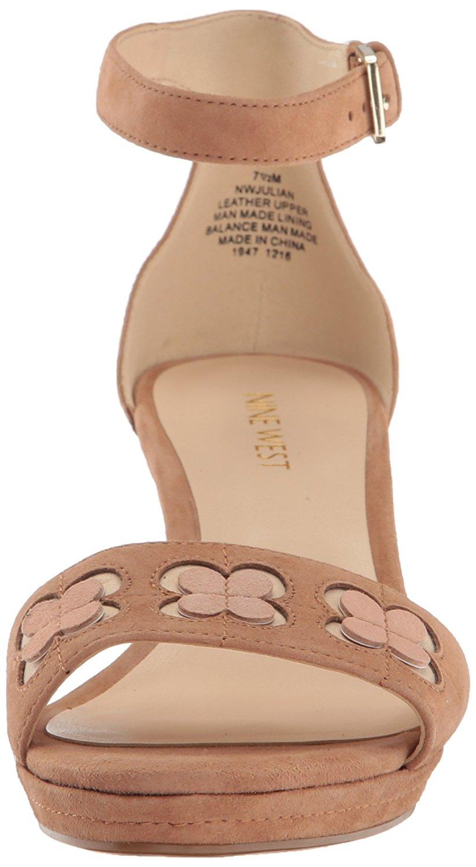 dfa5358b8347 Nine West Womens julian Suede Open Toe Casual Platform Sandals