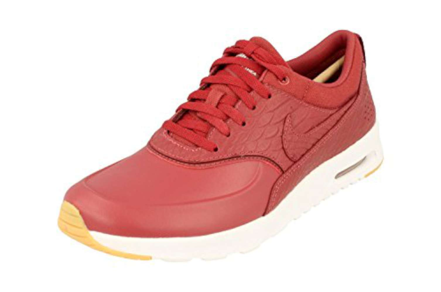 huge selection of fbfcf 949c0 Nike Womens Air Max Thea PRM Low Top Lace Up Running Sneaker