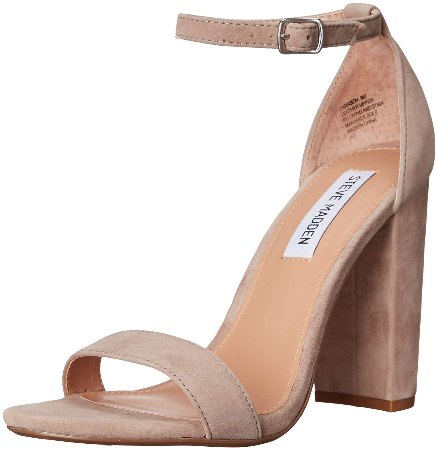 c9e3145310a0 Steve Madden Womens Carrson Leather Open Toe Special
